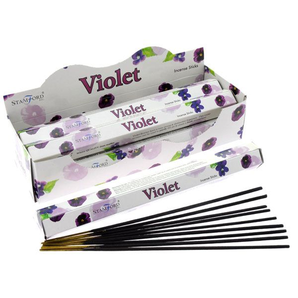 Aromaterapi Rökelse Stickor - Viol