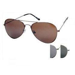 Solglasögon, Pilot , Unisex, silver