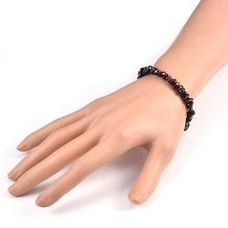Chips - Armband Garnet