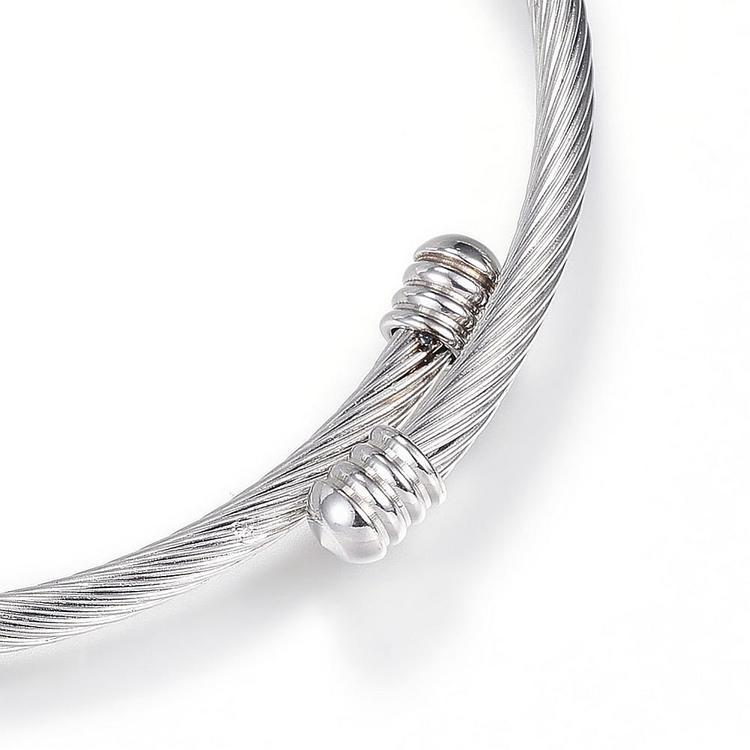 Armband  Rostfritt stål, justerbart / öppet