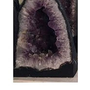 Ametist & Citrin geoder, I LAGER VEC 43, Klicka för mer info