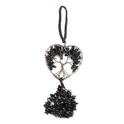 "Dekoration "" Tree of life "" Obsidian"