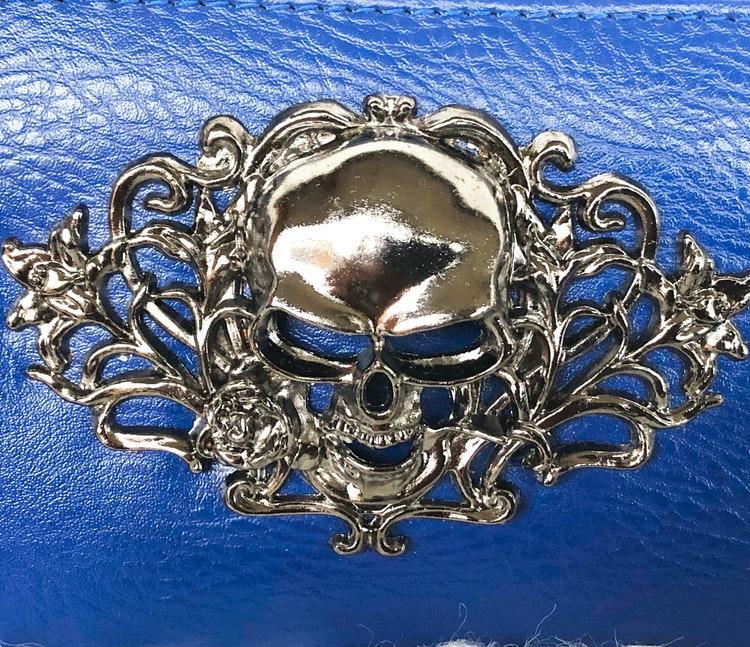 Plånbok blå