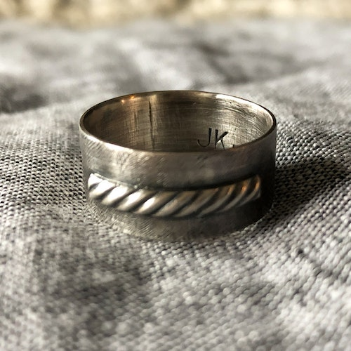 Ring Perfect Erratic Antique, 0,8 mm