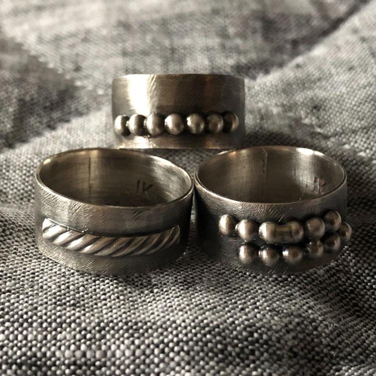 Ring Perfect Erratic Antique, 0,8 mm