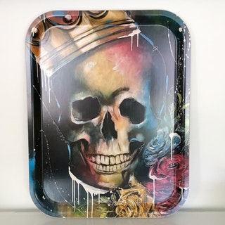 King of Skulls, bricka 36x28 cm