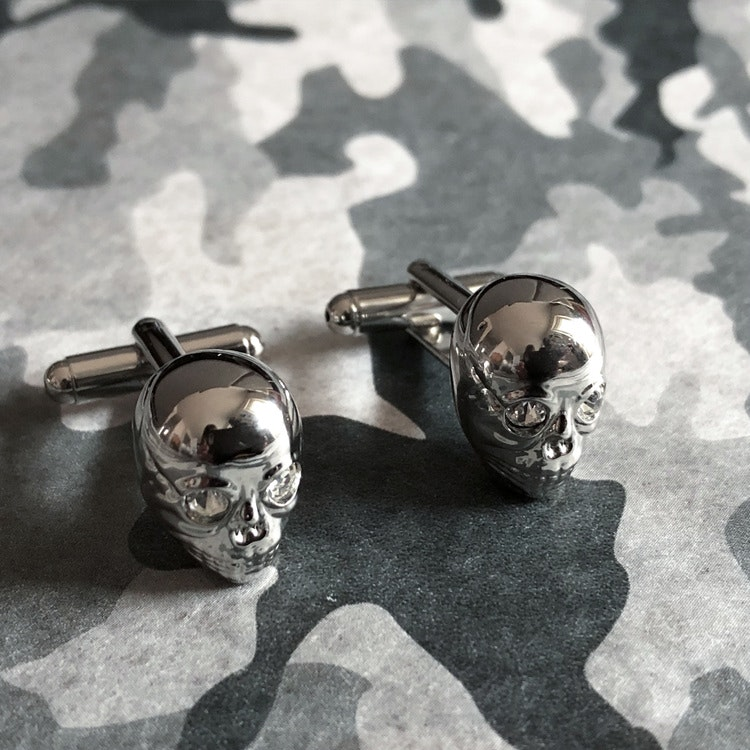 Manschettknappar Skull
