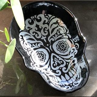 Skull, serveringsfat