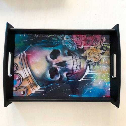 King of Skulls, bricka 43X28 cm