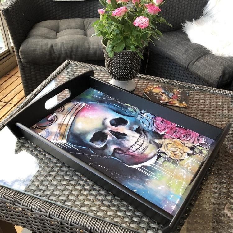 King of Skulls, bricka 43X28 cm