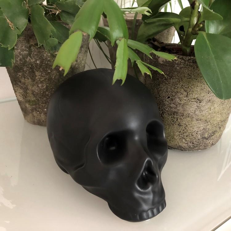 Döskallesparbössa svart