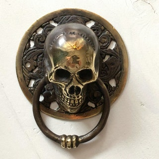 Dörrknackare brons - skull