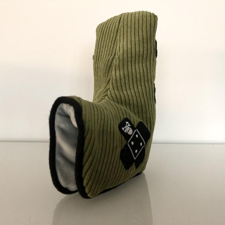 Headcover - grön manchester