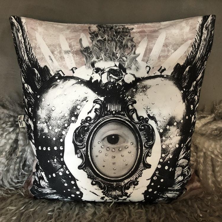 Kuddfodral Sacred Eye Granit