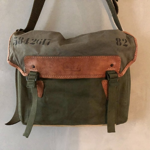 Canvas Shoulderbag - Laptop