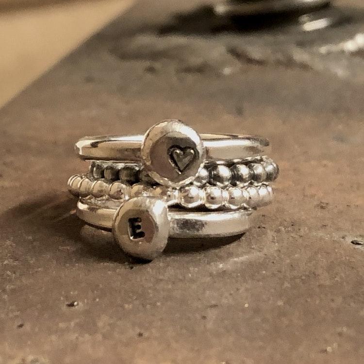 Ring Silverletter