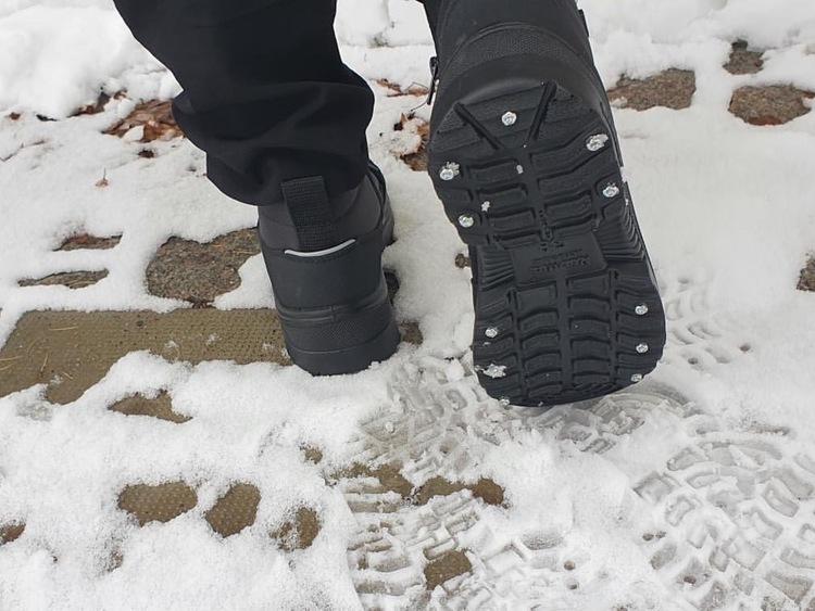 Kuoma Ice-grip Dubbkänga