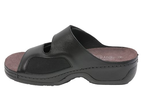 Embla sandal - ergoflex med elastisk insida