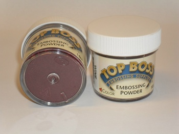 TopBoss, Embossing pulver, Deep green