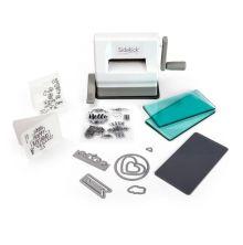 Sizzix Sidekick Starter Kit - White & Gray