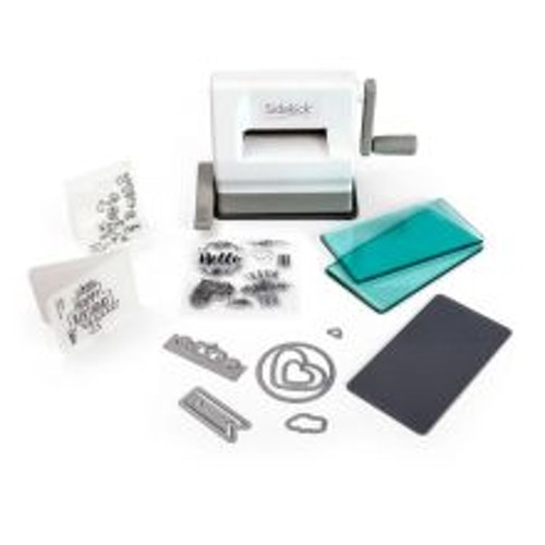 Sizzix Sidekick Starter Kit - White & Gray