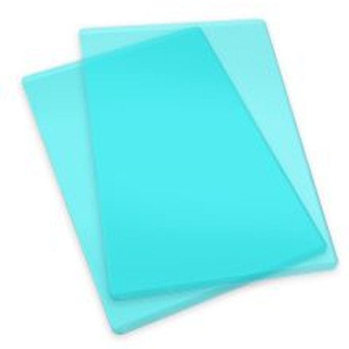660522 Sizzix Cutting Pads1 Pair - Standard/Mint