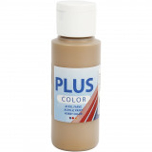 Plus Color hobbyfärg, bronze, 60ml