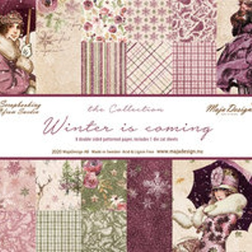 Maja Design Ark 6x6 -  Winter is coming - Paper Pack