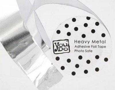 Aluminiumtejp, Heavy Metal, 3cm x 10 m