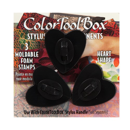 Color Box Stylus components Hearts 3 st