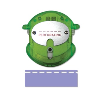 Finger guard, Replaceble blade, Perforating, green