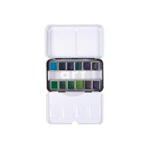 Prima Confections Watercolor Pans 12/Pkg - Currents