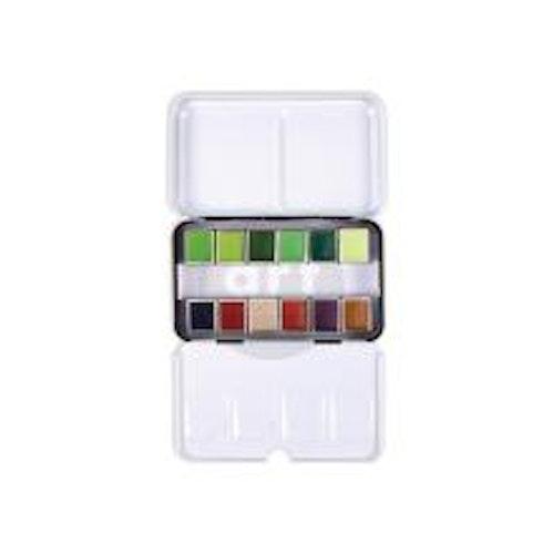 Prima Confections Watercolor Pans 12/Pkg - Terrain