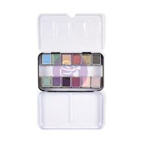 Prima Confections Watercolor Pans 12/Pkg - Vintage Pastel