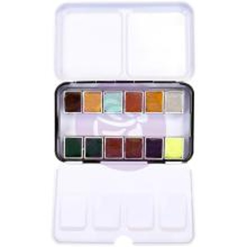 Prima Confections Watercolor Pans 12/Pkg - Essence