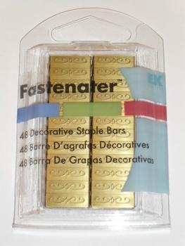 Fastenater Dec Staple Bars, Barcelona Copper 48st