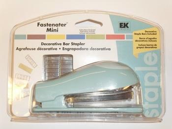 Fastenater Mini, EK häftapparat Blå
