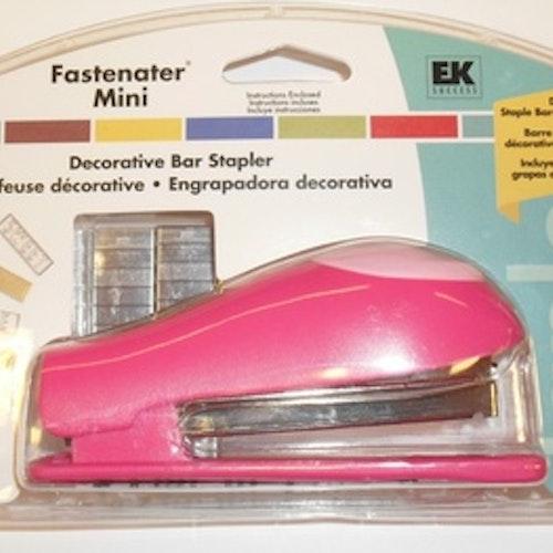 Fastenater Mini, EK häftapparat Rosa
