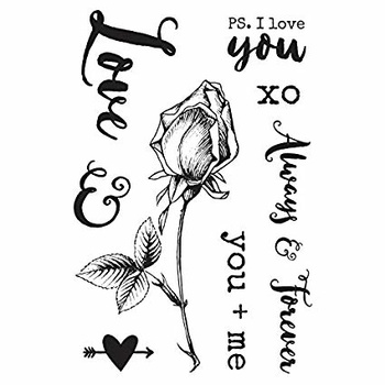 Kaisercraft clear stamps - Always & Forever