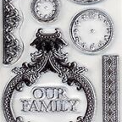 Kaisercraft clear stamps - Duchess