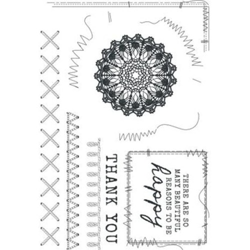 Kaisercraft clear stamps - Miss Betty
