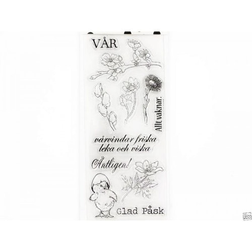YD Clearstamps Text, Vår