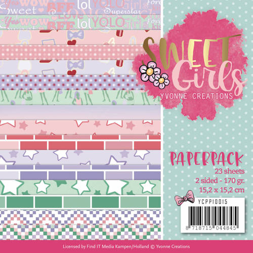 Paperpack 6x6, Yvonne Creations YCP10015