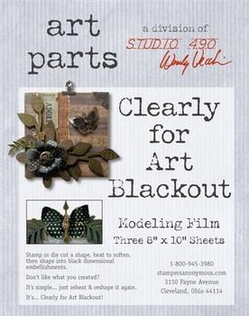 Art Parts, studio 490, blackout