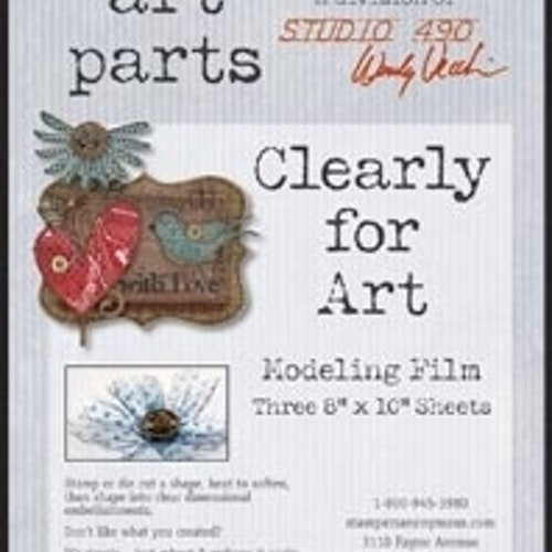 Art Parts, studio 490, Clear