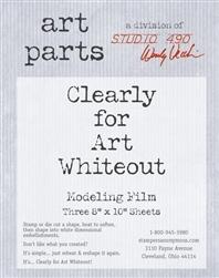 Art Parts, studio 490, whiteout