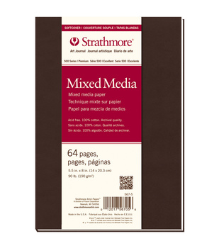 Strathmore Mixed media Art journal, 64 pages
