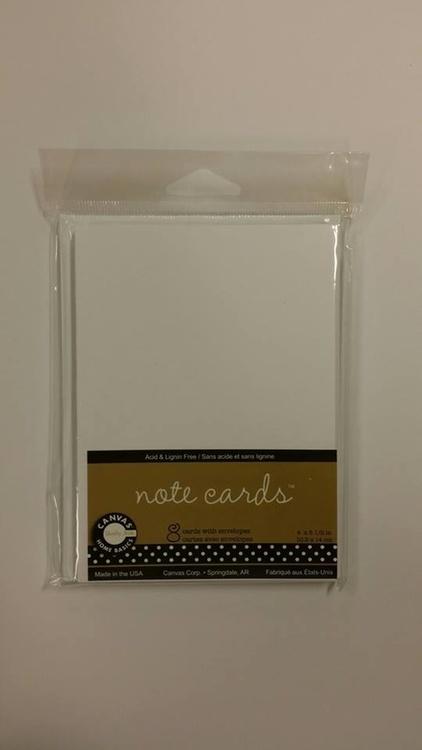 Kort och kuvert 8st, Note cards, 10,2x14 cm