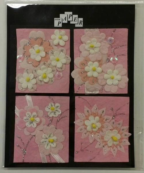 Handmade 3D Stickers, 012451