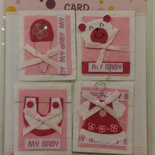 Handmade 3D Stickers, baby 012640
